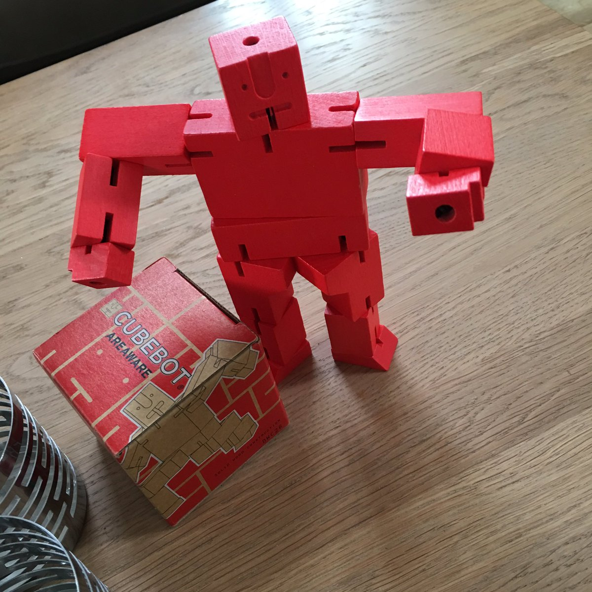 Ian Mcque On Twitter Love My Cubebot From Areaware Doubt Ill