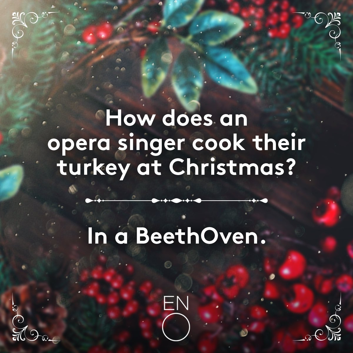 Bad Christmas Jokes.English National Opera On Twitter The Bad Musical