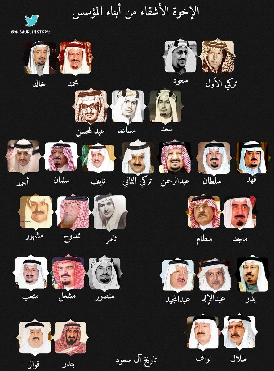 تاريخ آل سعود Alsaud History On Twitter الإخوة الأشقاء من أبناء المؤسس
