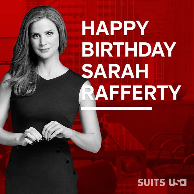 Suitors, it\s time to wish our very own Sarah Rafferty a Happy Birthday!