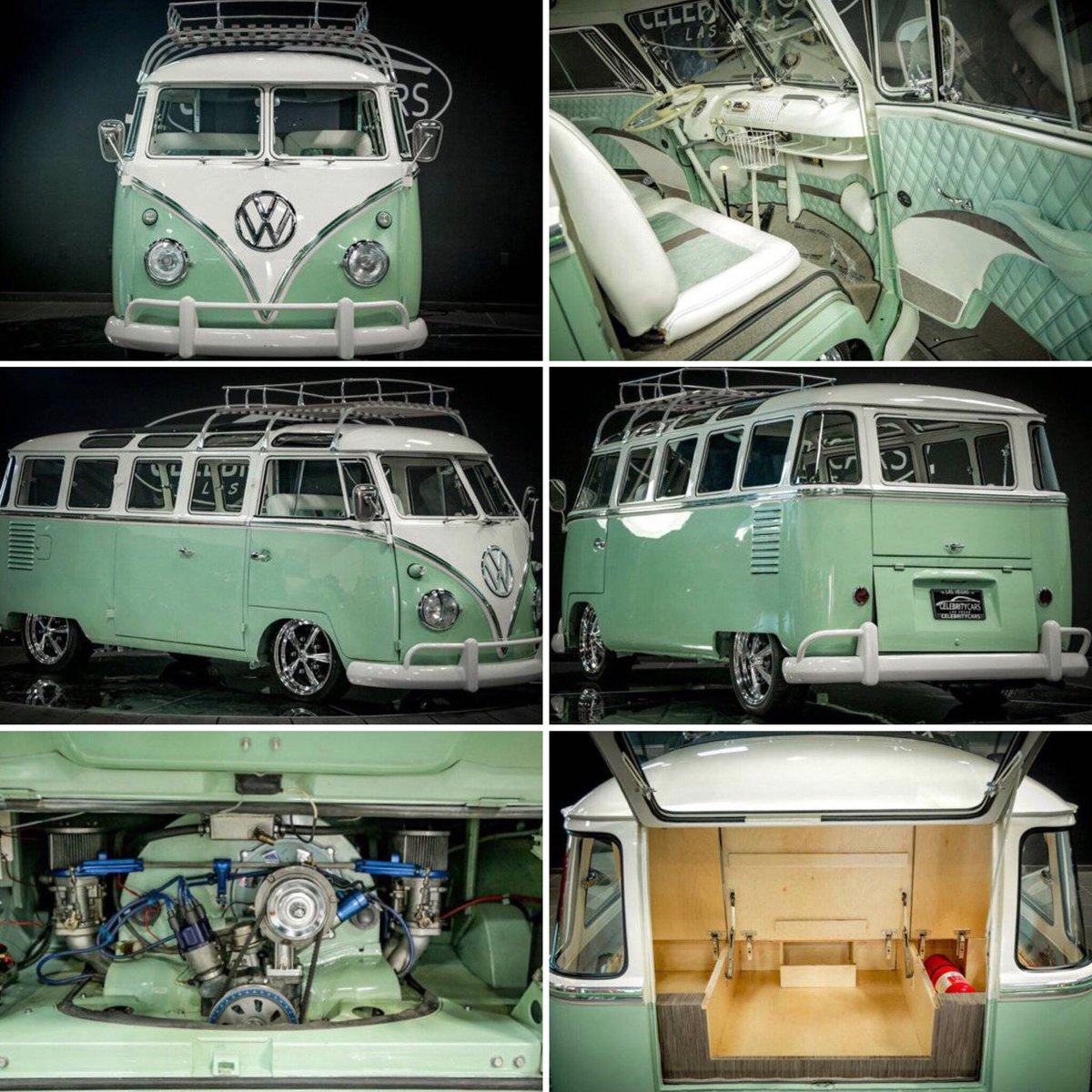 Vw bus and camper on twitter 1958 custom volkswagen 23 for 1958 vw bus 23 window