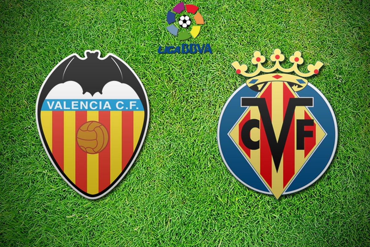 Прогноз на матч Валенсия - Вильярреал 23 декабря 2017