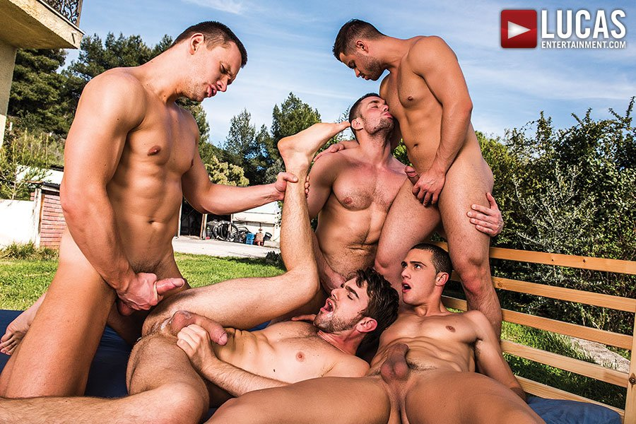 Mass Nude Orgies