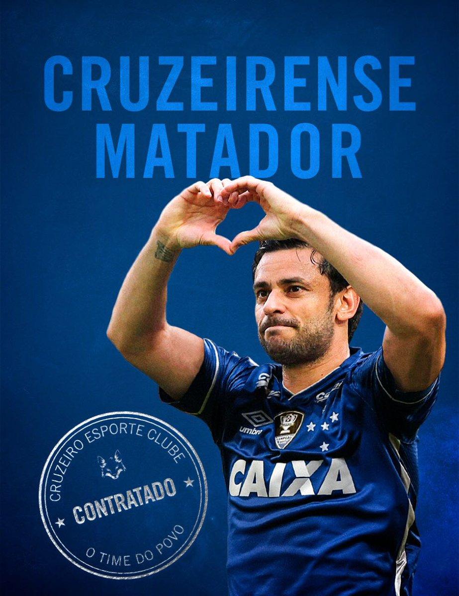 Ele vai balançar o coração da gente em 2018!  Fred, Cruzeirense e Matador é do #Cruzeiro!  Saiba mais em nosso site oficial -> https://t.co/52U9CcA9IP