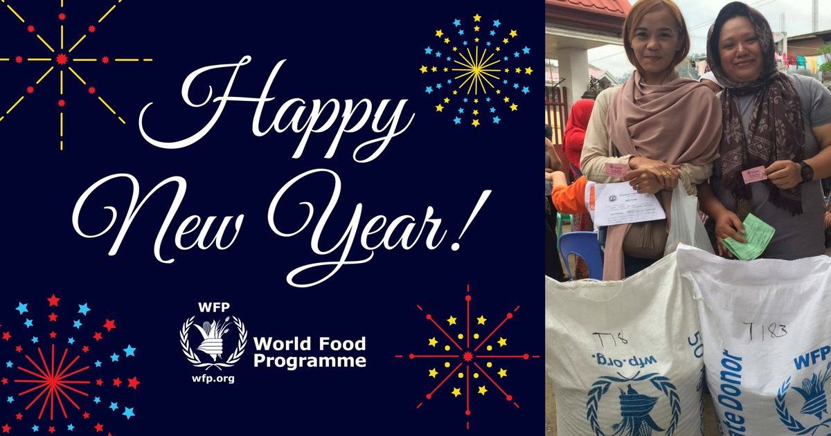 World Food Programme Philippines On Twitter Happy New Year From Wfp Philippines Thank You To All Our Donors Partners And Supporters Who Have Made 2017 A Successful Year For Us In The