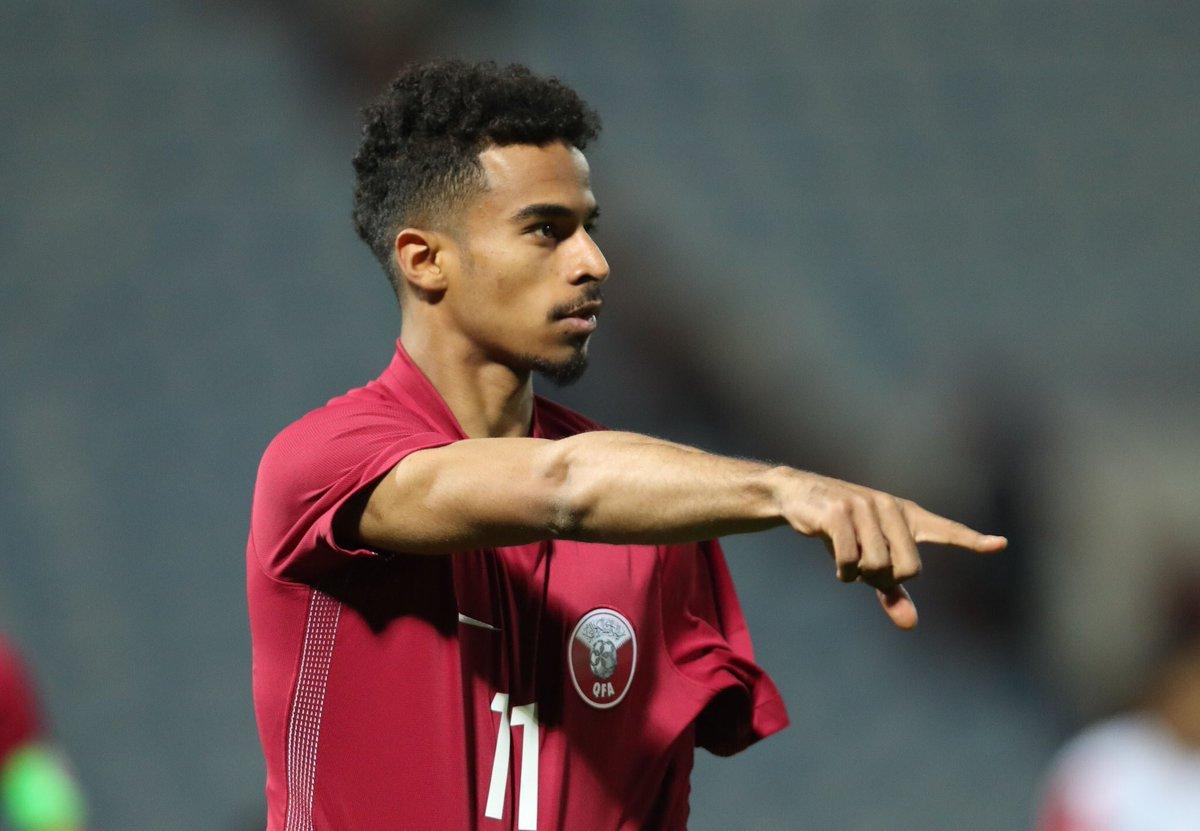 """خالد جاسم on Twitter: """"أكرم عفيف سجل أسرع هدف في تاريخ ..."""