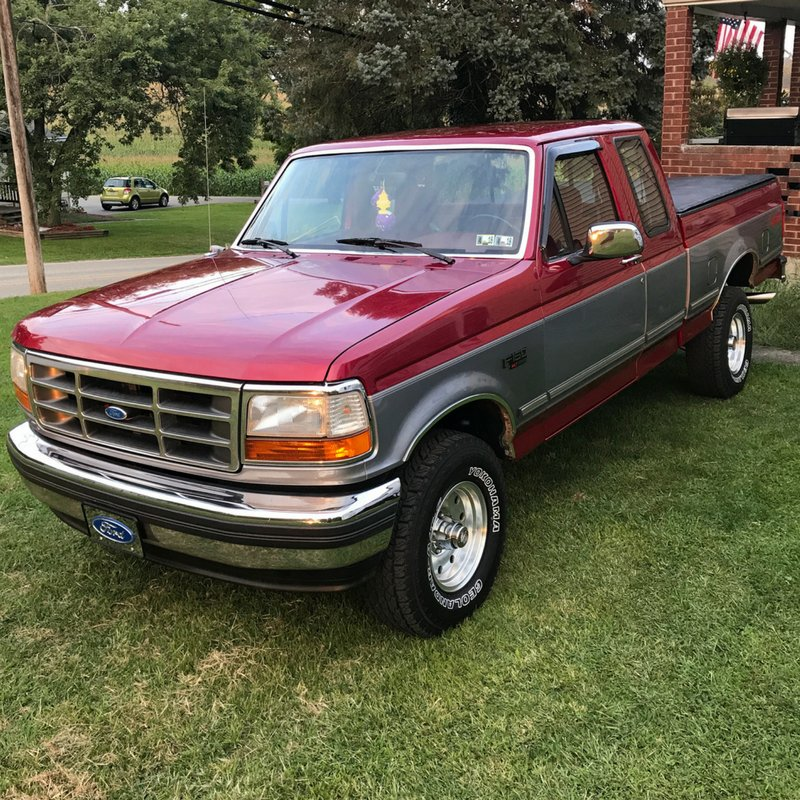 Lmc Truck On Twitter Bruce Middlekauff Uses His 1994 Ford F150