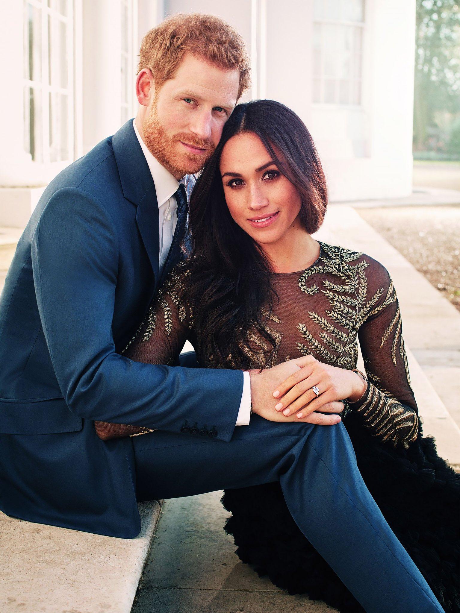 Gratulacje dla księcia Harry'ego i Meghan Markle z okazji ich zaręczyn!