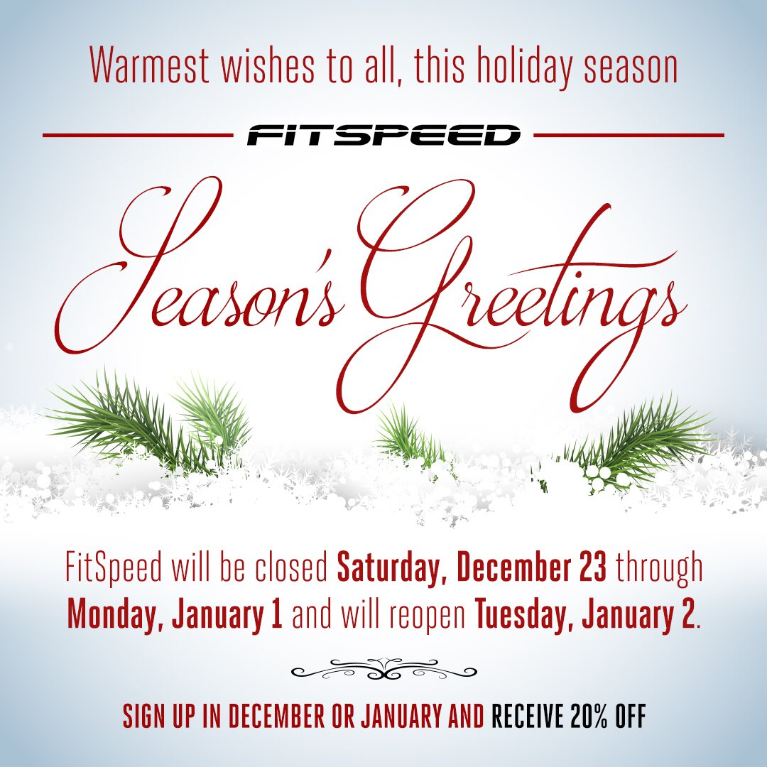 Fitspeed On Twitter Wishing You And Your Loved Ones The Happiest