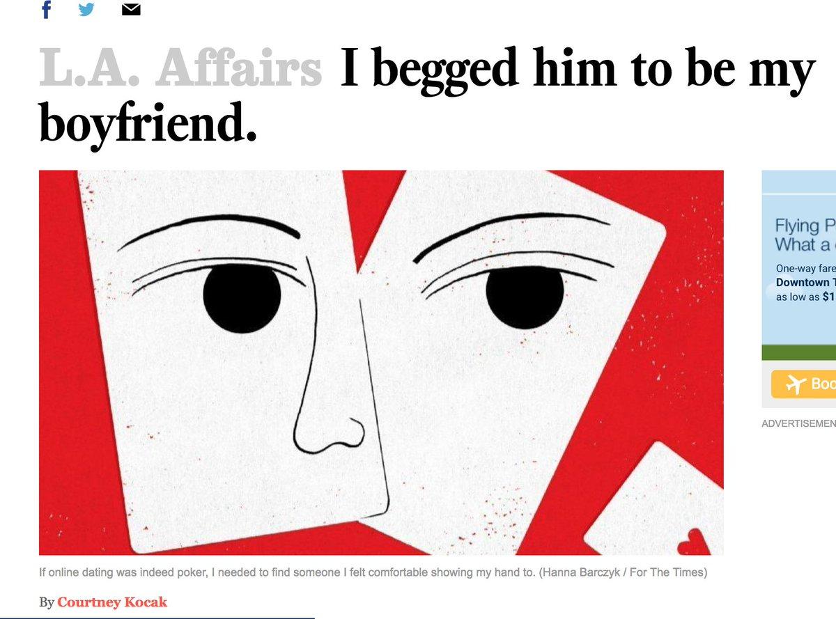la times online dating upoznavanje s nekim tko nije za tebe