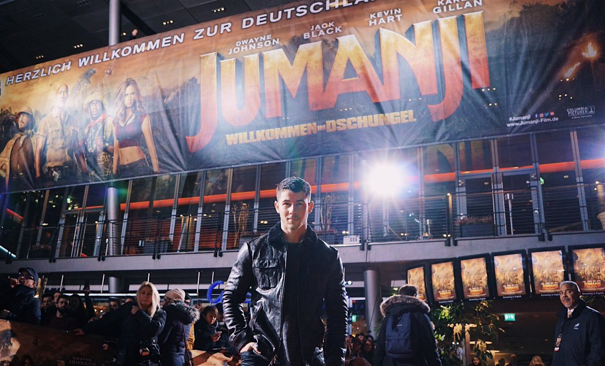 #JUMANJI is in theaters now!! Who's heading out to see it tonight?