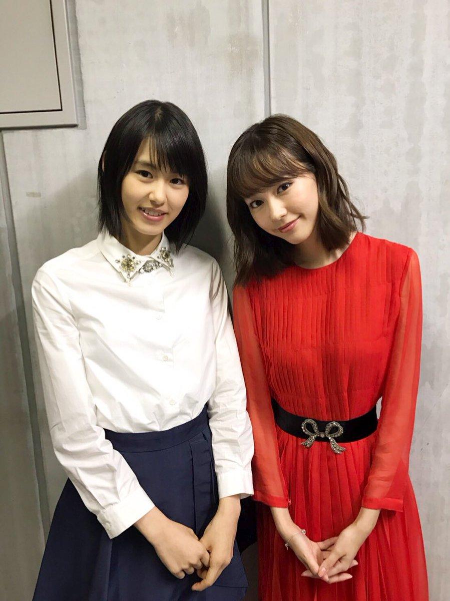 竹内愛紗と桐谷美玲