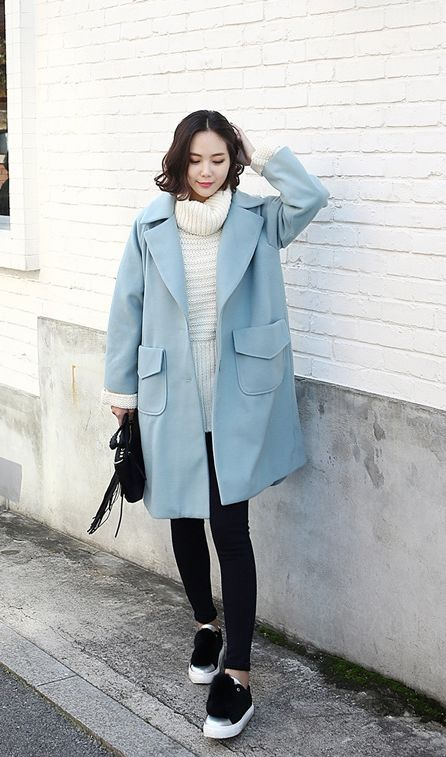 fantastic korean outfit for winter 10