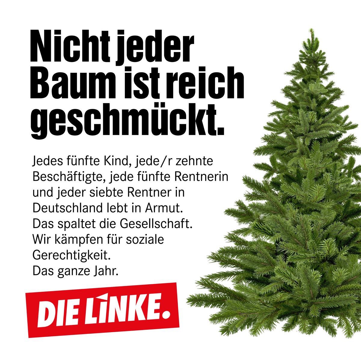 Frohe Weihnachten überall.Die Linke On Twitter Fröhliche Weihnacht überall Armut