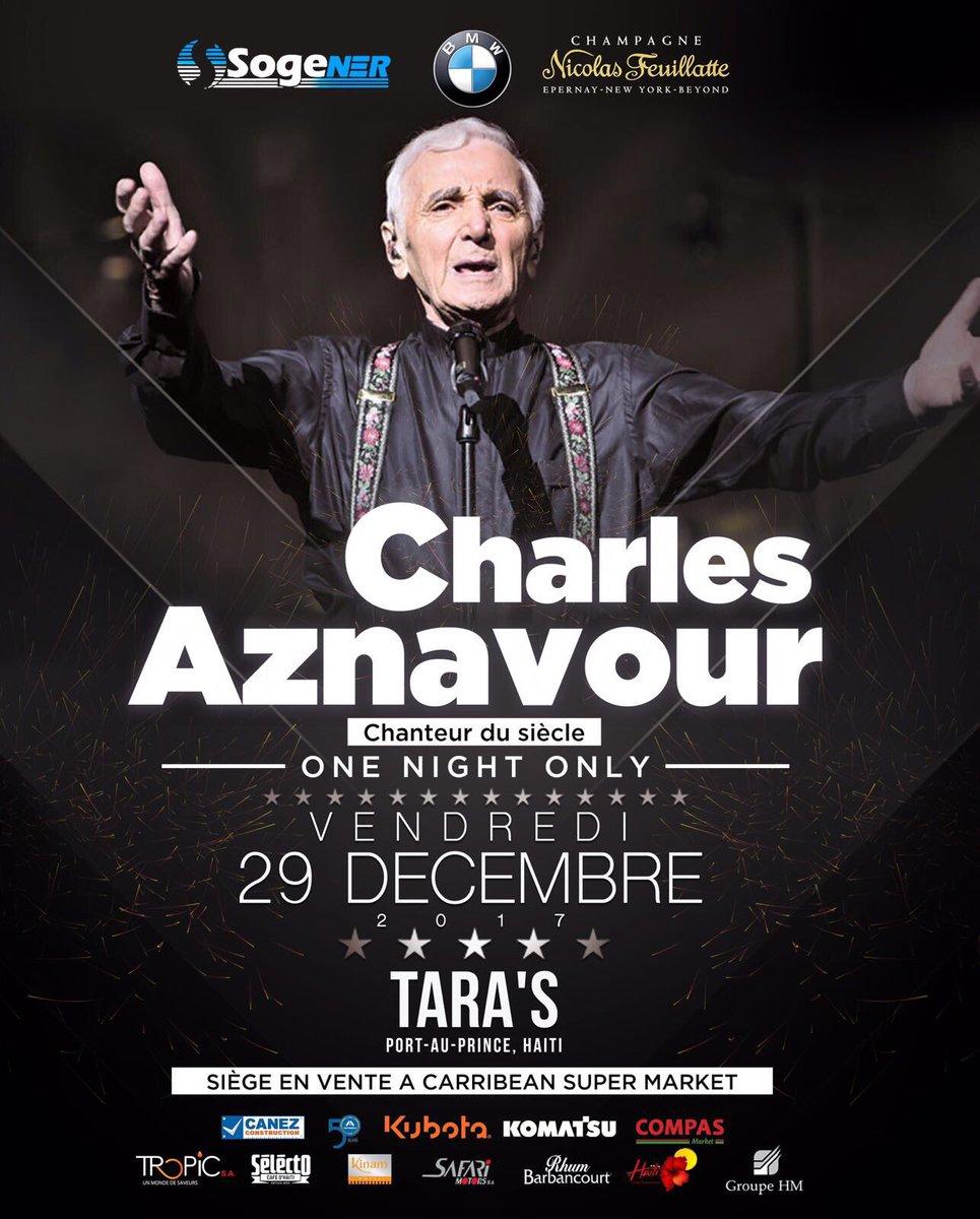 Image result for charles aznavour olivier martelly