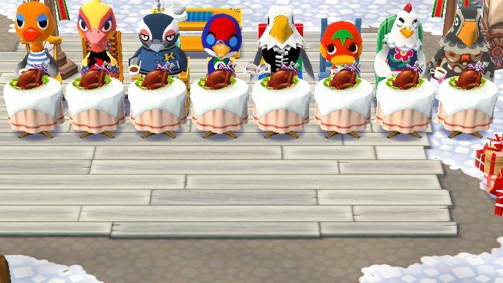 新たな鳥が加わってターキーパーリィ完璧になった!