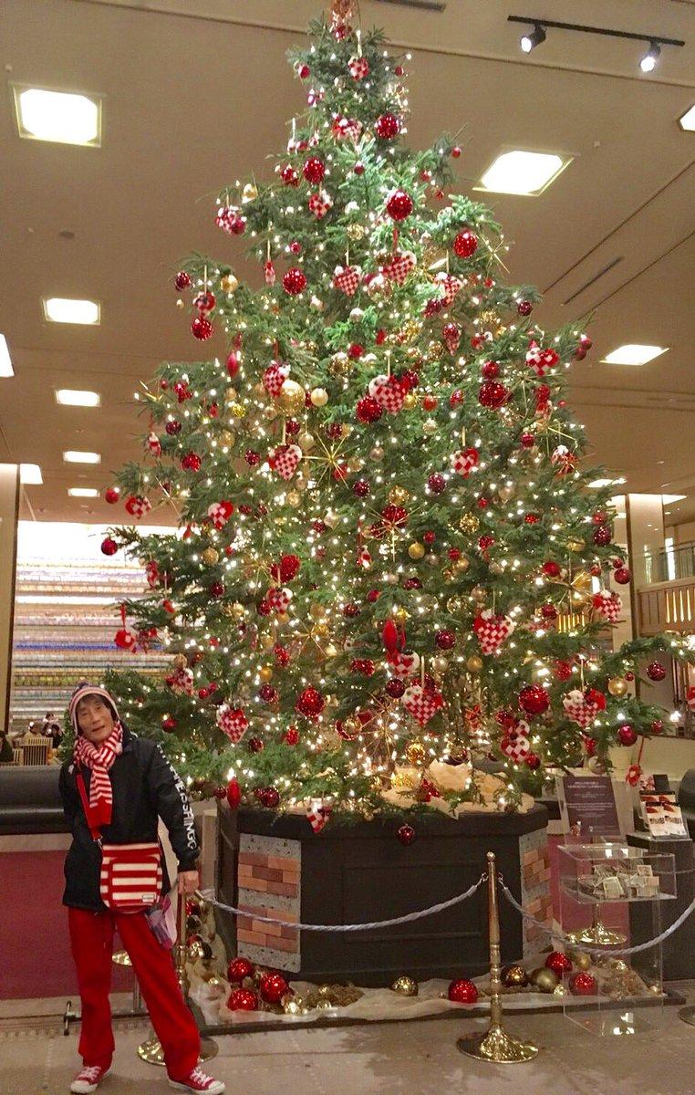 楳図先生から みなさんへ...  「ビックリスマス!!」  #楳図 #クリスマス #ツリー