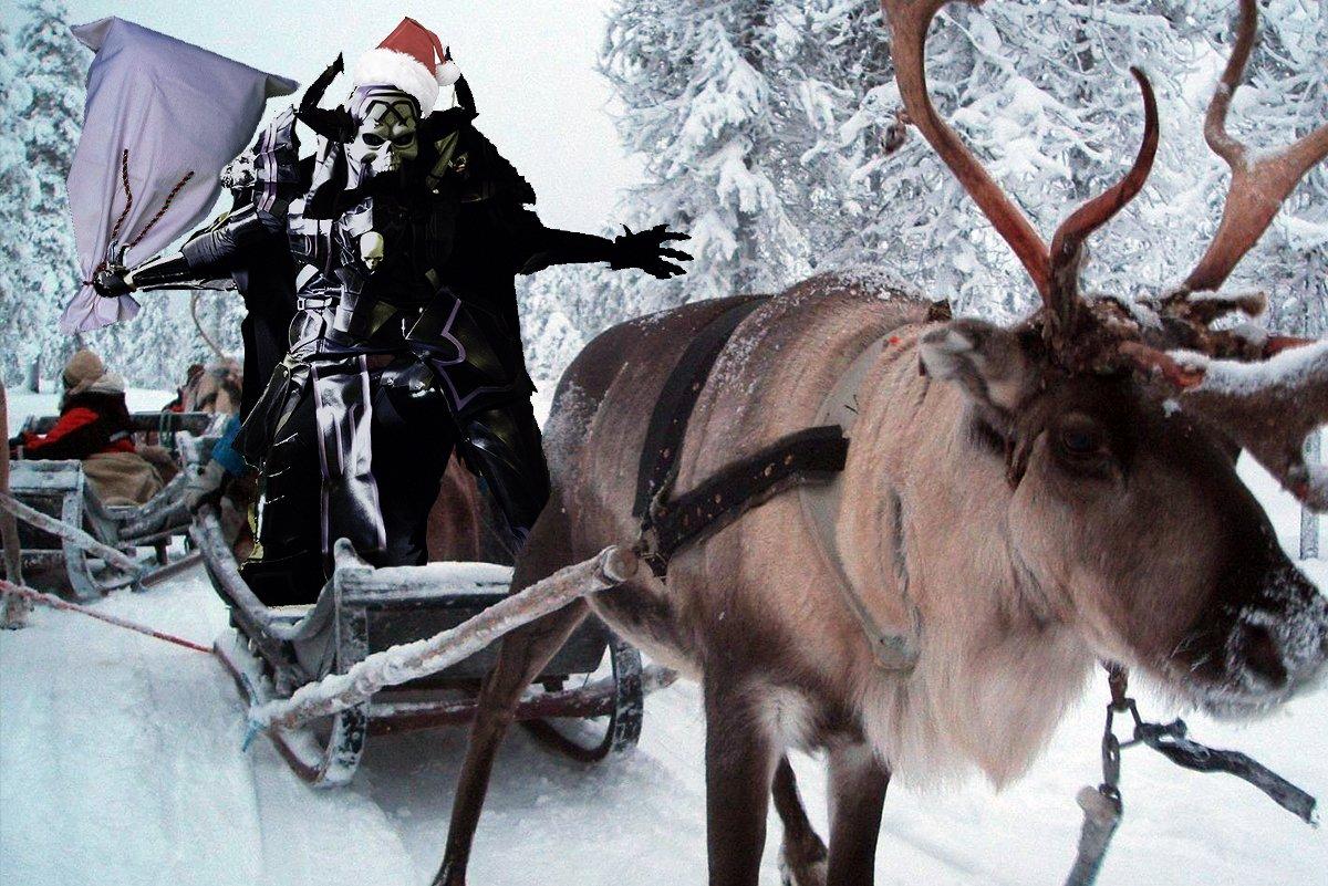 キングハサンタ 「あわてんぼうのハサンタクロース、クリスマスに首狩りに来た、、、 アズアズイルイル、、、アズアズイルイル 鳴らしておくれよ晩鐘を、、、」(cv:中田譲治)