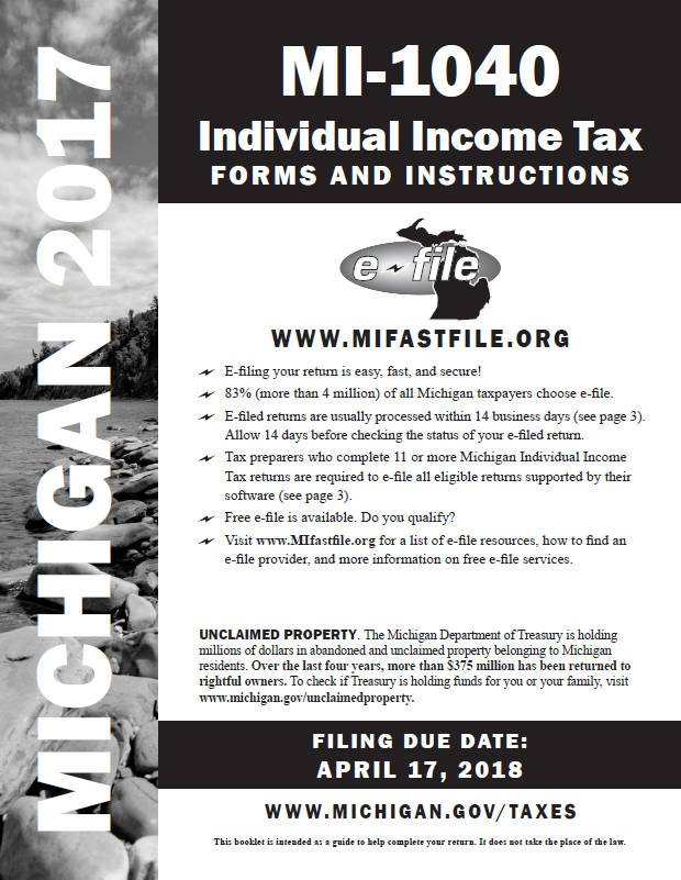 Income Tax Pro On Twitter Michigan Individual Income Tax Forms For