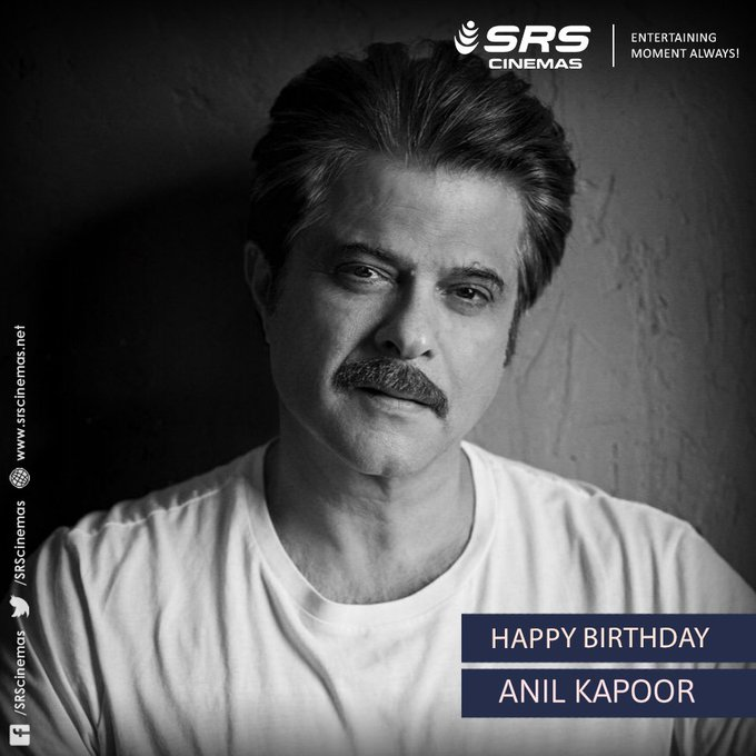 A very happy birthday to the man who never ages, Anil Kapoor!