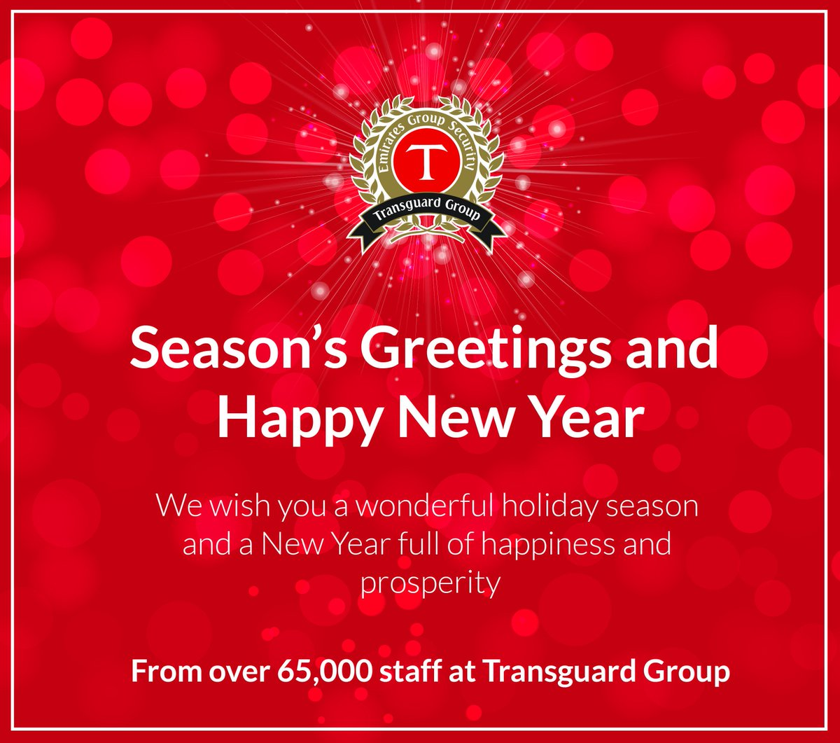 Transguard Group On Twitter Seasons Greetings And Happy New Year