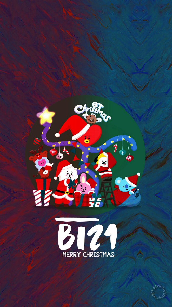 Bts Edits On Twitter Btmas Bt21 Bts Holidays Wallpaper