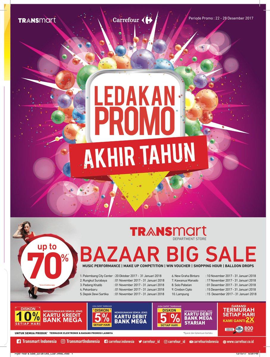 Transmart Carrefour On Twitter Luar Jawa Bali Sambut Akhir Tahun Dengan Ledakan Promo Transmart Raih Hematnya Produk Kebutuhan Rumah Tangga Pakaian Hingga Barang Elektronik Promo Berlaku Mulai 22 28 Desember 2017