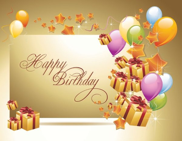 best wishes for a happy birthday from your loyal fan of 19 years. Kiß and Hugs from Italy. I   you