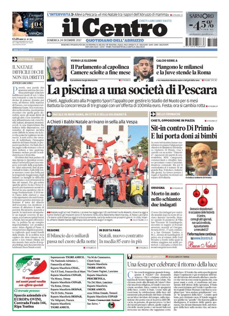 Il Centro On Twitter Buongiorno E Buon Natale Abruzzo Con La