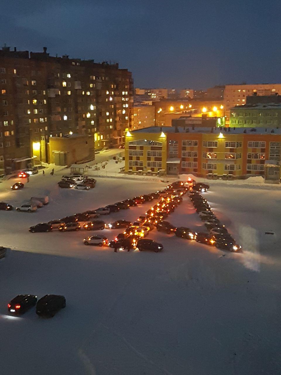 Фото зимнего норильска