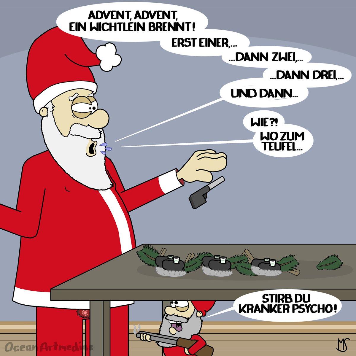 Comic Bilder Weihnachten.Ocean Artmedias On Twitter Frohe Weihnachten Euch Christmas