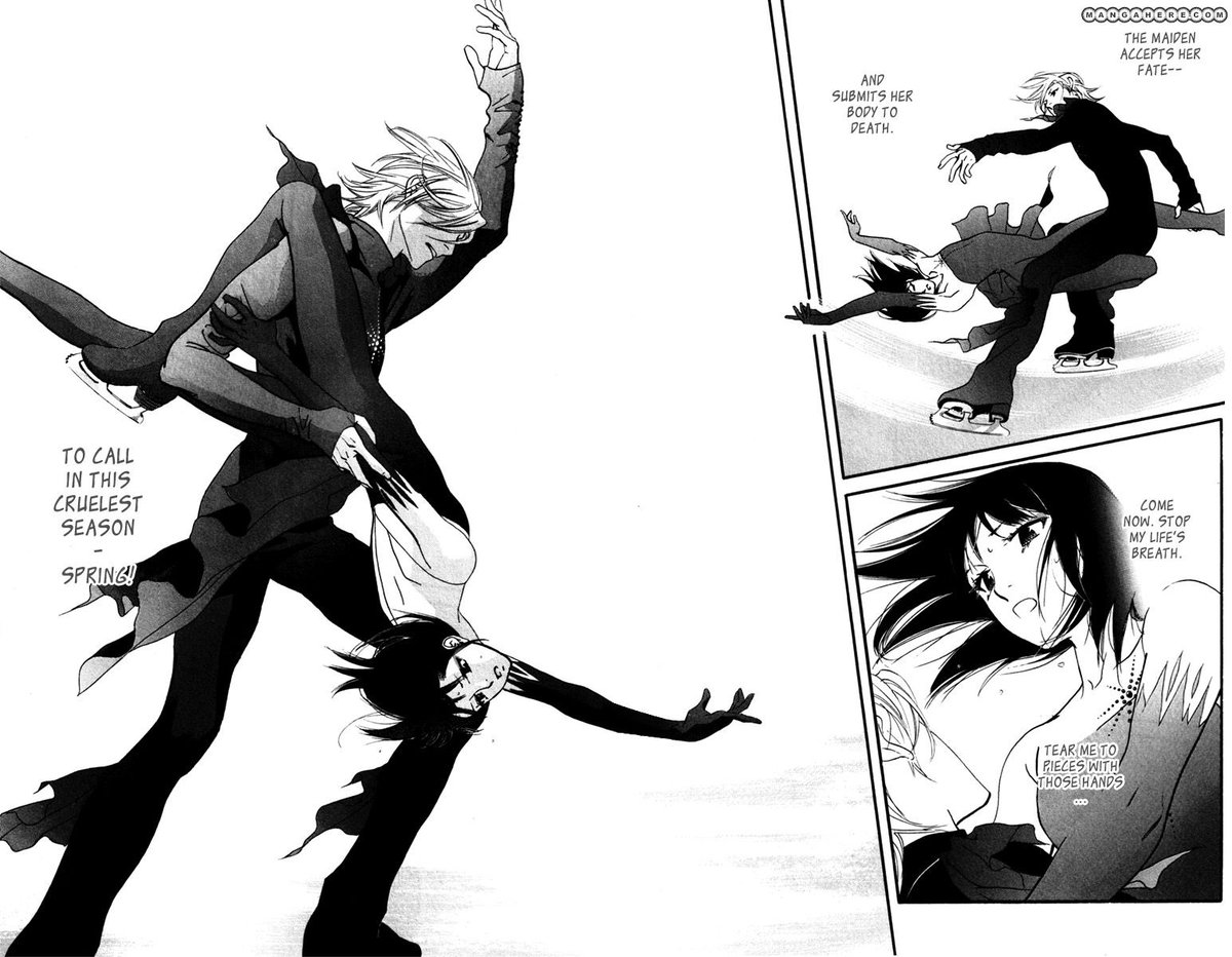 Animeaddict Kingdom On Twitter Manga Kiss Never Cry Genre Romance Josei Sports Mystery Manga Josei Iceskating