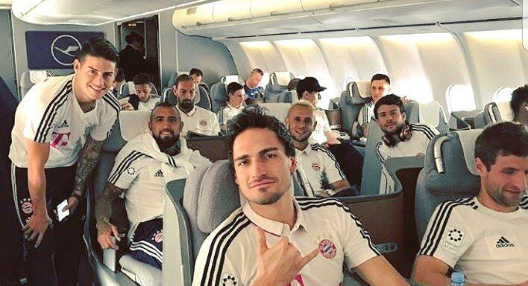 Back to Munich!!! #MiaSanMia #FCB #Bayer...