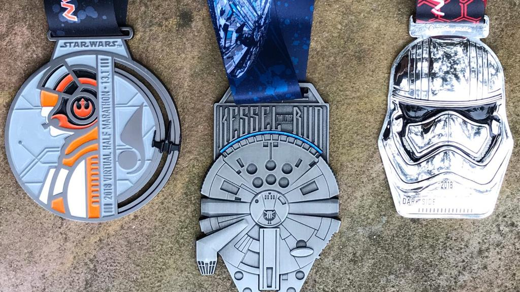 Run YOUR galaxy in @runDisney's Star Wars Virtual Half Marathon. https://t.co/p1rRNMa7C5 https://t.co/wdS5DNU9MF