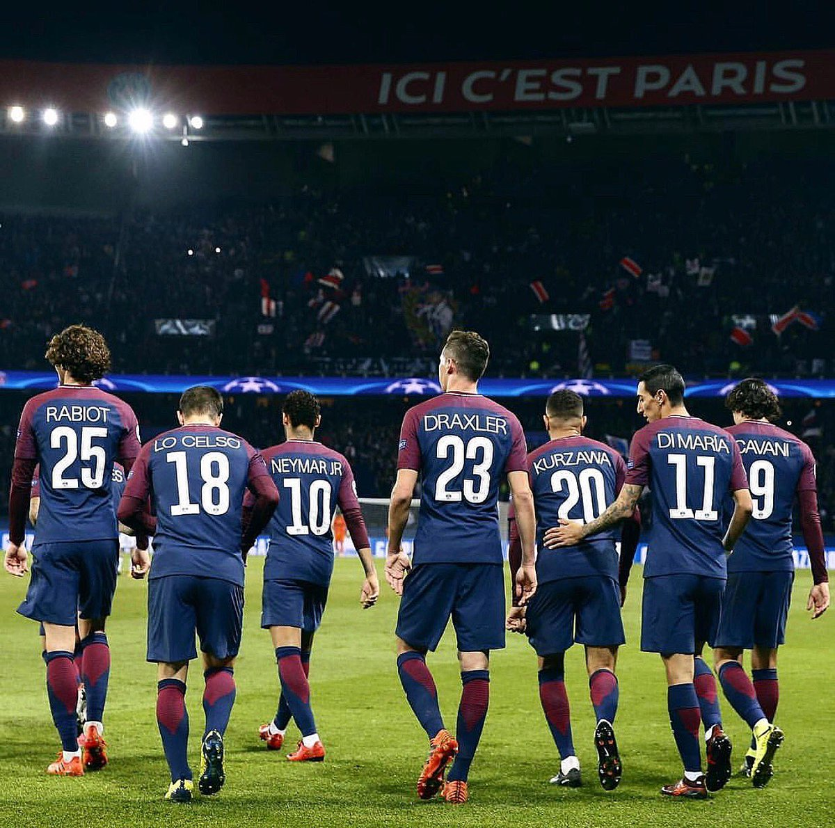 RT @LoCelsoGiovani: Let's go 2018 - Ici C'est Paris 🔴🔵 @PSG_inside https://t.co/3KE11um7dv