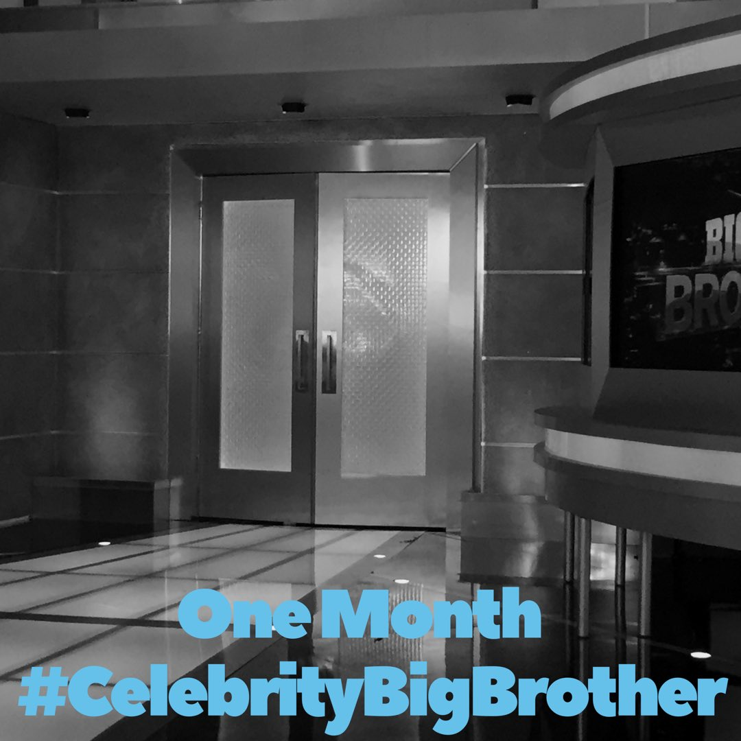 RT @JulieChen: #CelebrityBigBrother premieres in ONE MONTH! Who's ready for February 7?! 🙋🏻♀️🤗 #ExpectTheUnexpected https://t.co/ChY4c9v1tu