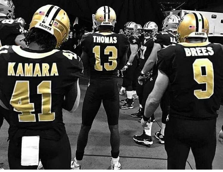 all black saints jersey