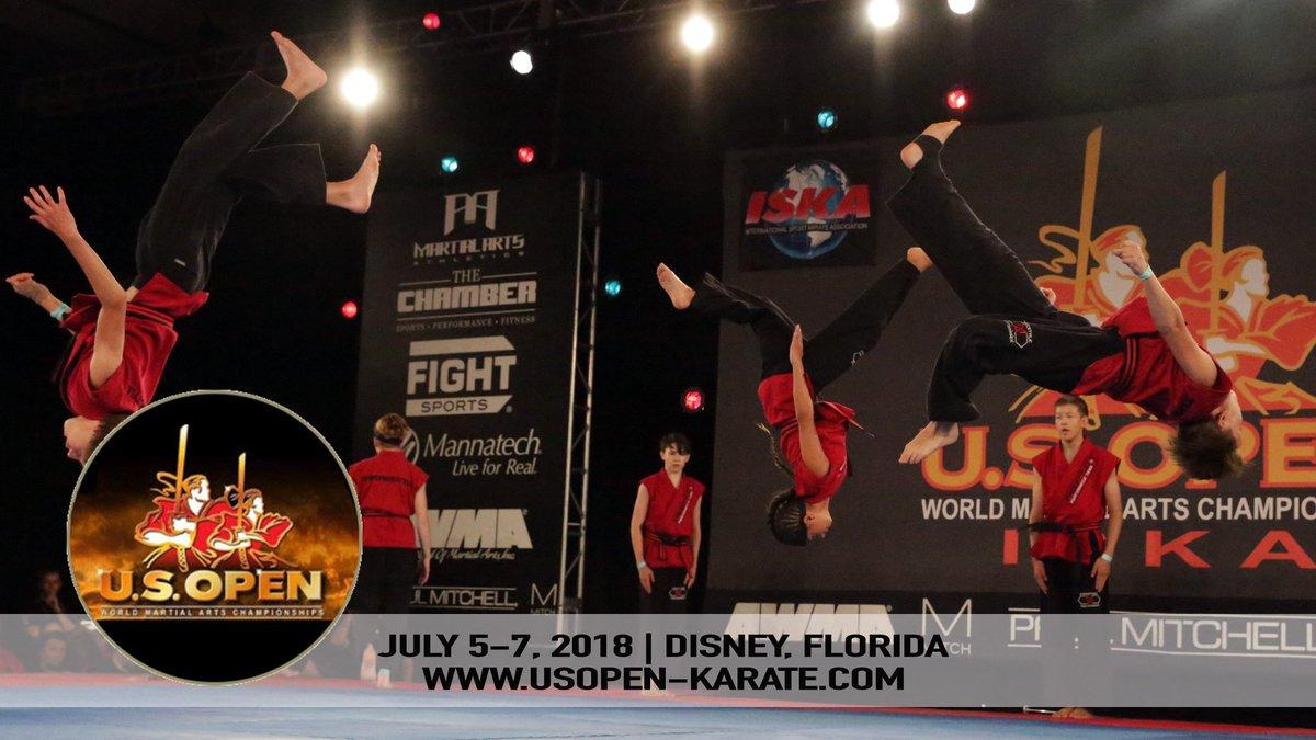 2018 U S Open ISKA World Martial Arts Championships Tournament