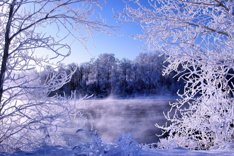 Марта, мороз в картинках