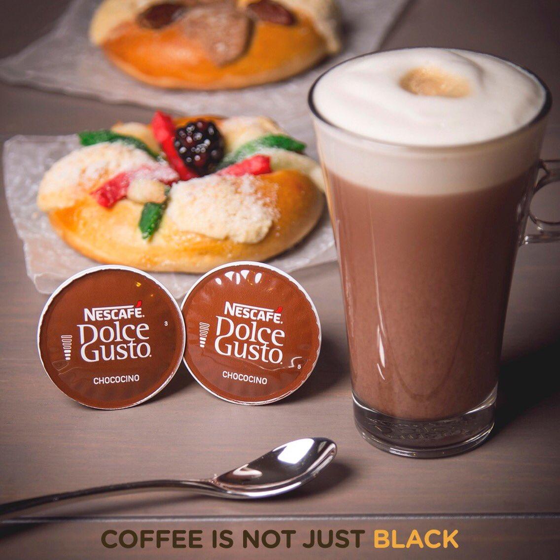 ¿Qué tal una taza de Chococino® de NESCAFÉ® Dolce Gusto® para acompañar una deliciosa #RoscadeReyes? Compártenos tu momento.  ☕️🐪🐪🐪 https://t.co/lkNrJfF97p