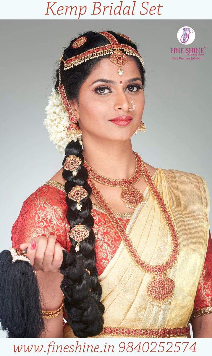 Fine Shine On Twitter Kemp Bridal Set For Rent Wedding Jewellery