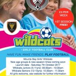 The Saturday Mini Soccer Centre and Girls Wildcats sessions are back on today after the Christmas break. We look forward to seeing everyone again this morning for our first session for the 2018 year... let's go! 👍⚽️  @cornwallfa #cornishfootball