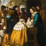 """Del Evangelio de San Mateo: """"Al ver la estrella, se llenaron de inmensa alegría. Entraron en la casa, vieron al niño con María, su madre, y cayendo de rodillas lo adoraron; después, abriendo sus cofres, le ofrecieron regalos: oro, incienso y mirra."""" ¡Feliz día de Reyes! 👑 👑 👑"""