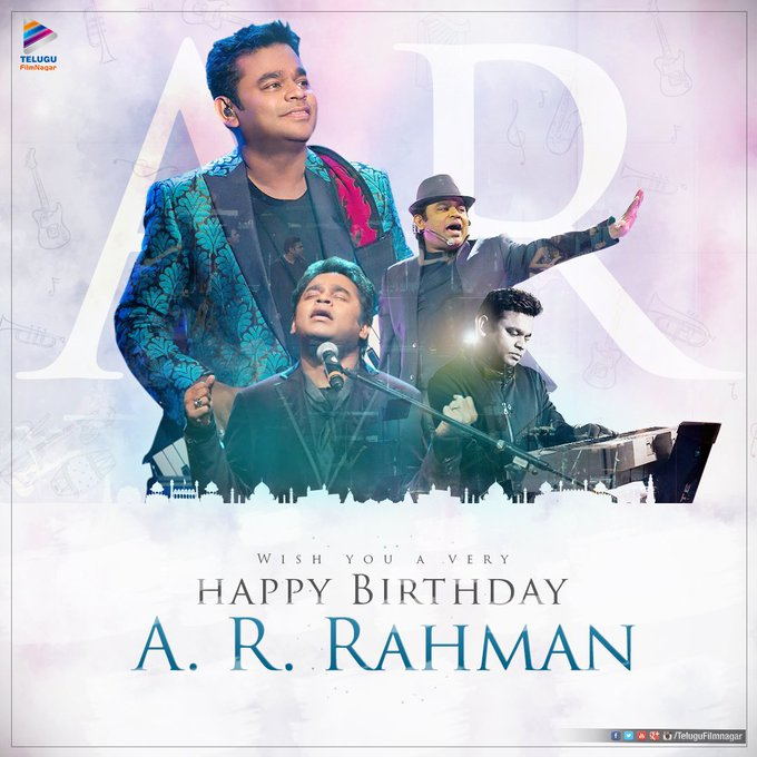 HAPPY Birthday to A.R.RAHMAN sir Have a Victorious year ahead