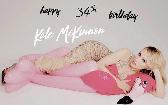 Happy Birthday to Kate McKinnon!