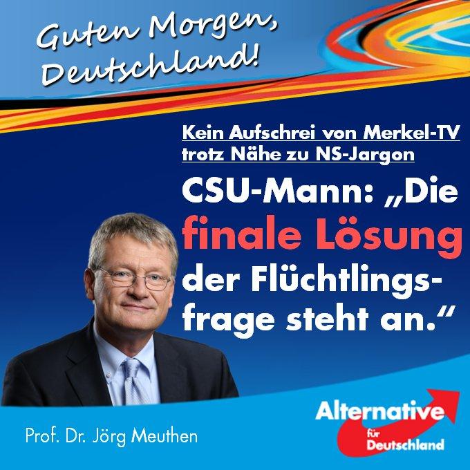 Prof Dr Jörg Meuthen On Twitter Guten Morgen