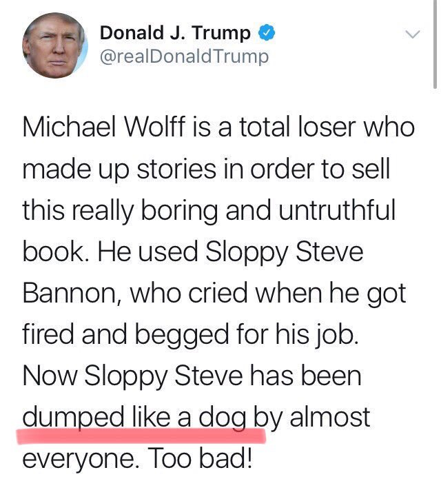 He still doesn't understand what dogs are. https://t.co/q1YRari3xe