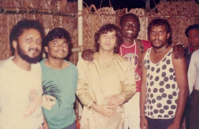 Happy Birthday  Young A.R. Rahman With Zakir Hussain, Sivamani and Singer