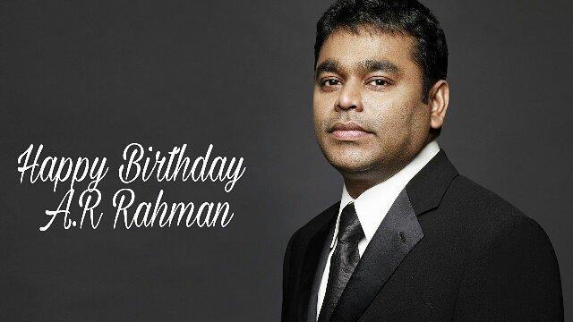 Here\s wishing the music virtuoso- A.R Rahman, a very happy birthday!