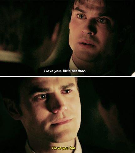 иαиα彼 On Twitter Damon I Love You Little Brother Stefan I